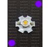 N/A 1W Power LED lila 110 Lumen 2100-2200K hűtőcsillagon világítás