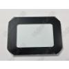 N/A 50W LED reflektor front üveg fekete kerettel