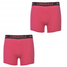 Lonsdale Boxeralsó Lonsdale 2 Pack Boxers gye.