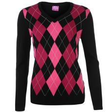 Slazenger női pulóver - Argyle Golf