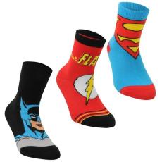 DC Comics 3 pár Gyermek zokni