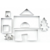 Perfect home 12406 Mézeskalács ház kiszúró készlet 10 db 3D