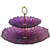 Perfect home 16209 Craft emeletes kínáló tál lila