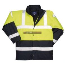 Portwest S466 Kontraszt Traffic kabát (SÁRGA 5XL)