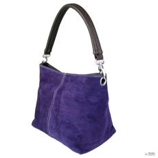 Miss Lulu London E1403 - Miss Lulu Suede egy szíj kézi táska lila