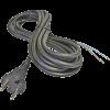 Emos S03230 FLEXO GUMI 3X1,5 H05RR-F fekete 5m szerelt kábel