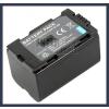 Panasonic CGP-D320T1B 7.2V 2200mAh utángyártott Lithium-Ion kamera/fényképezőgép akku/akkumulátor