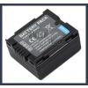 Panasonic VDR-D300 7.2V 700mAh utángyártott Lithium-Ion kamera/fényképezőgép akku/akkumulátor