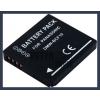 Panasonic Lumix DMC-FX66 3.7V 1100mAh utángyártott Lithium-Ion kamera/fényképezőgép akku/akkumulátor