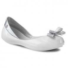 Mel by Melissa Belarina MEL BY MELISSA - Mel Queen Inf 31730 White/Silver 50554