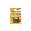 """Panasonic Elem, AAA mikro, 4 db, PANASONIC """"Alkaline power"""" (PEBAAA4)"""
