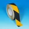 Csúszásgátló szalag, Fokozott érdességű sárga és veszélyre figyelmeztető, 50mm x 18.3m