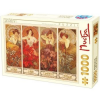 D-Toys Puzzle, Alfons Mucha, 1000 darab (5947502866930)