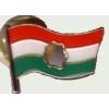 56-os lyukas zászló (20x15 mm) ezüst színű