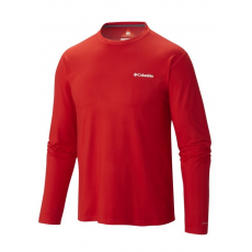 Columbia 1621352 Trail Summit LS Shirt Sport t-shirt D (AO1500-n_691-Bright Red)