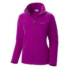 Columbia 1423861 Fast Trek II FZ Fleece Jacket Polár,softshell D (AL6542-n_530-Bright Plum)