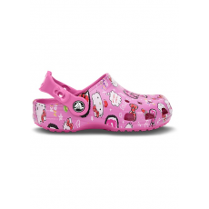 CROCS CLASSIC HELLO KITTY CLOG Papucs D (CY15780K_6V5-PARTY PINK)