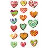 Maildor Cooky 3D matricák - Szívek