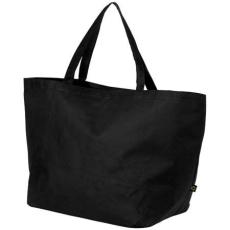 Maryville préselt bevásárlótáska, fekete (Maryville préselt bevásárlótáska, 80 g/m2 préselt)