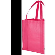 Bevásárlótáska, nem szőtt, cseresznye (Bevásárlótáska, nem szőtt, 80 g/m2 nemszőtt anyagból.)