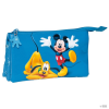 Next Door Universal Neceser Mickey & Pluto Disney triple gyerek
