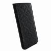 Piel Frama iPhone 6/6S Pull Style kihúzható eredeti borjúbőr tok, fekete