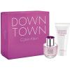 Calvin Klein Downtown Gift Set ( 50ml EDP + 100 ml Tusfürdõ ) nõi