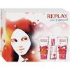 Replay Your Fragrance for Her Gift Set (20ml EDT + 50ml tusfürdõ + 50ml testápoló) nõi