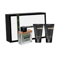 Dsquared He Wood Intensé Gift Set ( 30ml EDT + 30ml 2in1 Sampon Tusfürdõ + 30ml Testápoló ) férfi kozmetikai ajándékcsomag