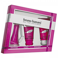 Bruno Banani Made for Women Gift Set (20ml EDT + 50ml Tusfürdõ + 50ml Testápoló) nõi kozmetikai ajándékcsomag
