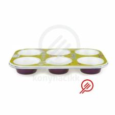 Perfect home muffin sütőforma lila 6-os 11836 sütés és főzés