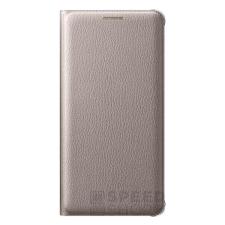 Samsung Galaxy A5 (2016) gyári flip tok, arany, EF-WA510PF, (SM-A510) tok és táska