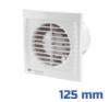 Ventilátor, Silenta-SL (125 mm) gördülőcsapággyal villanyszerelés