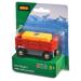 BRIO Szalmabála szállító vagon 33565