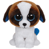 Ty. Plüss figura Beanie Boos 24 cm Duke -fehér barna kutya