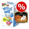 Animonda Vom Feinsten 32 x 100 g Animonda vom Feinsten + 20 x 15 g Milkies - Szárnyas & borjú