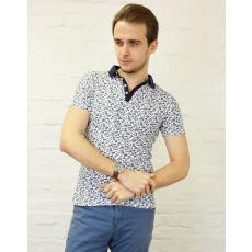 Pálmafa mintás férfi póló