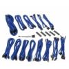 Bitfénix BitFenix Alchemy 2.0 PSU kábelkészlet, CMR széria - Kék