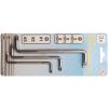 Kraftmann 3-részes L-profilú kulcs készlet