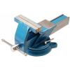 BGS 360 fokban forgatható kovácsolt acél asztali satu, 150 mm-es befogó pofákkal