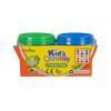 Kid's Toys Kék és zöld tégelyes gyurma, 2x140 g