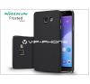 Nillkin Samsung A510F Galaxy A5 (2016) hátlap képernyővédő fóliával - Nillkin Frosted Shield - fekete tok és táska