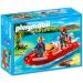 Playmobil Vidramentő motorcsónakkal - 5559