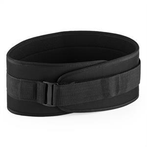 Capital Sports Rugg, M méretű, fekete, súlyemelő öv, tépőzár, ultra könnyű