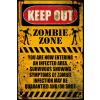 Zombie zone plakát