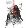 Star Wars VII. Empire White poszter