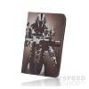 GreenGo univerzális tablet tok 7-8 colos, robot mintás