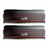 Team Group Dark Pro Series, DDR4-3000, CL15 - 16 GB Kit - piros
