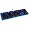 Ducky Channel Ducky ONE Gaming Tastatur, MX-Red, kék LED - Kék / Átlátszó