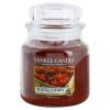 Yankee Candle Black Cherry illatos gyertya  411 g közepes + minden rendeléshez ajándék.